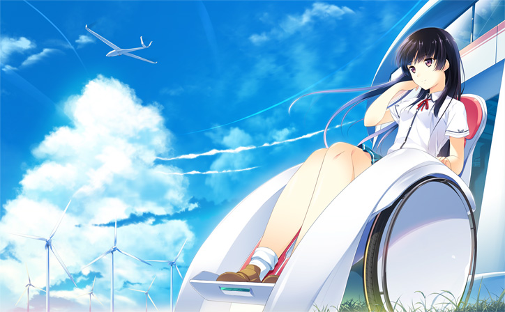 『この大空に、翼をひろげて』イメージイラスト